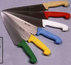 colored kitchen knives color coded knives and cutting boards