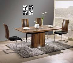 Stylish And Modern Wood Dining Table In Home Interior Designs - Designers dining tables