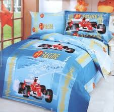 race car formula one boys bedding twin duvet covers set f1 red or blue