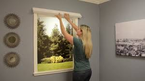 install easy lift window shades featuring simple stick outside