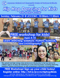 japanese online class hip hop for kids free workshop japanese cultural and