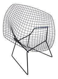 harry bertoia diamond chair chairish