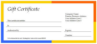 printable hotel gift certificates 40 gift certificates templates for any occasion microsoft and