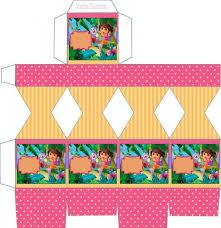 explorer free printable invitations boxes party dora coloring