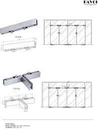 patch fitting glass door patch fitting for glass door system pf028 pf029