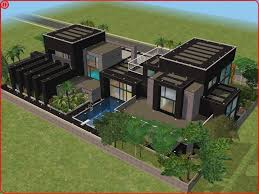 sims 2 houses modern colorful home decor sims 3 pinterest
