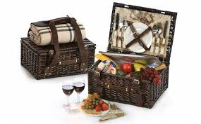 picnic basket set for 2 copley 2 person picnic basket picnic plus