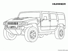coloring page hammer usa