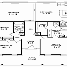 country house plans one story inspirational 4 bedroom one story country house plans 4 bedroom