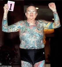 photos of tattooed seniors show how body art endures passage of