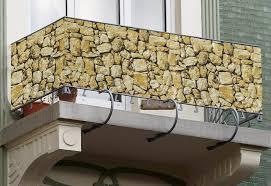 pvc f r balkon chestha balkon bambus dekor