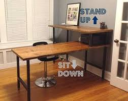 68 Best Sit Stand Desks Images On Pinterest Desks Bureaus And Sit
