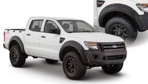 Ford Ranger Truck Accessories - bushwacker pocket style flare ford ranger