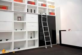 Short Ladder Bookcase 25 Modern Home Library Designs With Ladders And Stairs
