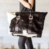 Cowhide Overnight Bag Our Blog