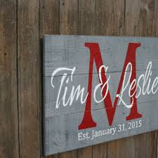 personalized wooden wedding signs pallet sign personalized name sign custom name sign wedding g