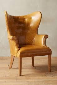 creative of small leather wingback chair with georgian style wing