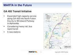 Marta Train Map Transit In Atlanta U2013 Past Present And Future Ppt Download
