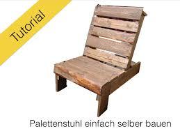 Gartenbank Selber Bauen Bauanleitung Stuhl Aus Europaletten Diy Tutorial Youtube