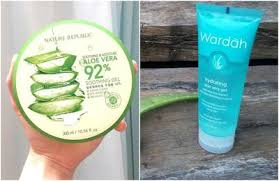Wardah Gel wardah aloe vera gel vs nature republic mana yang lebih oke