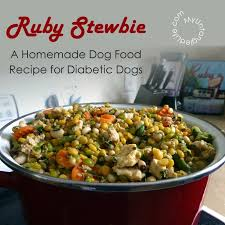 homemade diabetic dog food recipe ruby stewbie