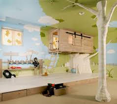 Small Bedroom Ideas For Couples And Kid Unusual Design Ideas Of Cool Kid Bedroom With Tree House Shape Bed