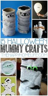 Mummy Crafts For Kids - yarn wrap mummies easy halloween crafts for kids easy