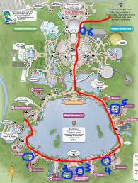 Map Of Epcot Epcot Wdw Marathon Bathrooms Map U2013 Cruising Goddess
