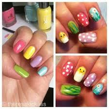 top 18 new easter nail designs u2013 famous home manicure trend from