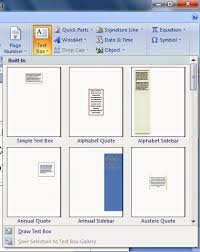 membuat novel di ms word cara membuat text box pada microsoft office word tutorial ms word