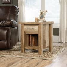 log living room furniture boone mountain side table 416719 sauder