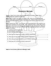 scientific method worksheet free white u0027s workshop white u0027s