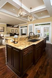 Kitchen Island With Sink And Dishwasher And Seating Scintillating Kitchen Island With Sink Dimensions Gallery Best