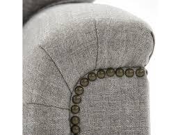 broyhill furniture warren sleeper sofa with nailhead trim accents