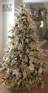 tree with a touch of gold and white