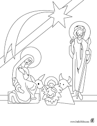 christmas eve coloring pages hellokids