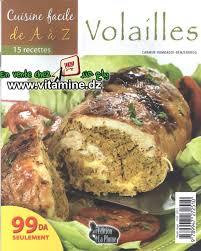 cuisine de az cuisine facile de a à z volailles livres cuisine