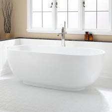Acrylic Freestanding Bathtub Signature Hardware Renlo Acrylic Freestanding Tub 414001 71