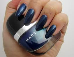 blue velvet by marc jacobs nail polish swatch by sig