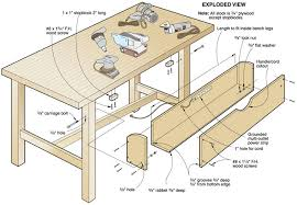 Woodworking Bench Plans Pdf by Wood Workbench Plans Free Download Fine Art Painting Gallery Com