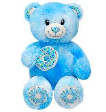 build a unstuffed sprinkles donut blue plush build a unstuffed teddy animal sweet