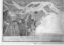 Savannah Map Savannah Siege 1779 Map