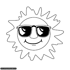 impressive sun coloring pages best and awesome 3439 unknown