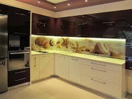 glaspaneele küche die besten 25 glasrückwand küche ideen auf