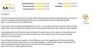 wedding band reviews band reviews