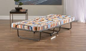 Folding Bed Frame Torino Roll Away Folding Bed With Metal Frame And Mattress Groupon