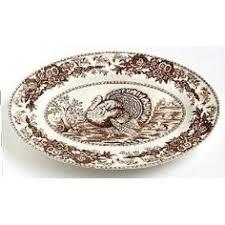 turkey platters thanksgiving spode festival turkey platter plates patterns