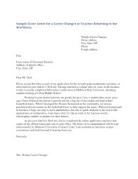 cover letter sample cover letters for teaching positions sample