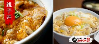 cuisine japonais oyakodon bol de poulets et œufs sur du riz japonais cuisine japon