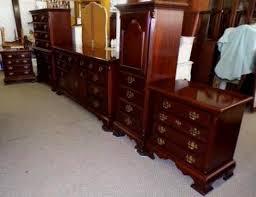Solid Cherry Bedroom Set by Solid Cherry Bedroom Set Queen Sz Bed 7pc Set Made In N Carolina